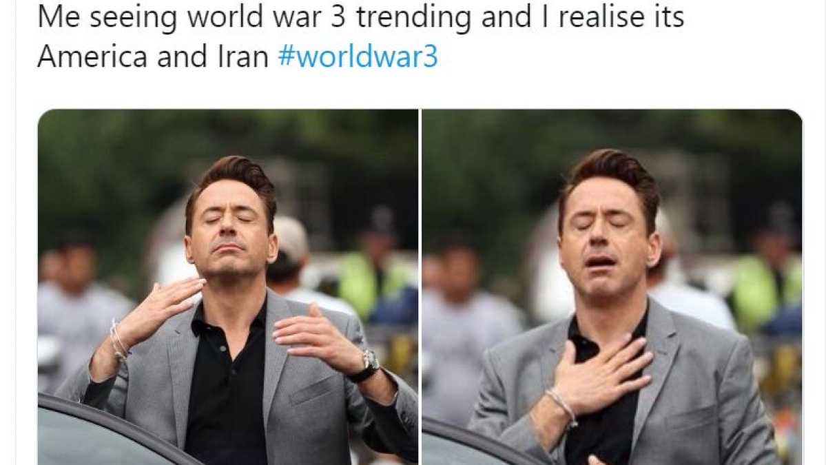 US-Iran Tension: Twitter full of memes and jokes about World War 3