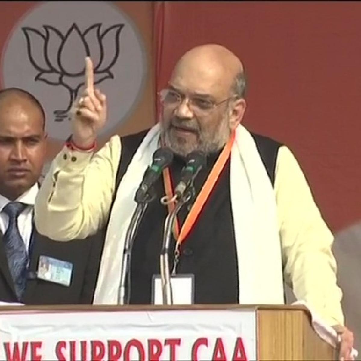 Amit Shah challenges Rahul Gandhi, Mamata Banerjee, Akhilesh Yadav for debate on CAA