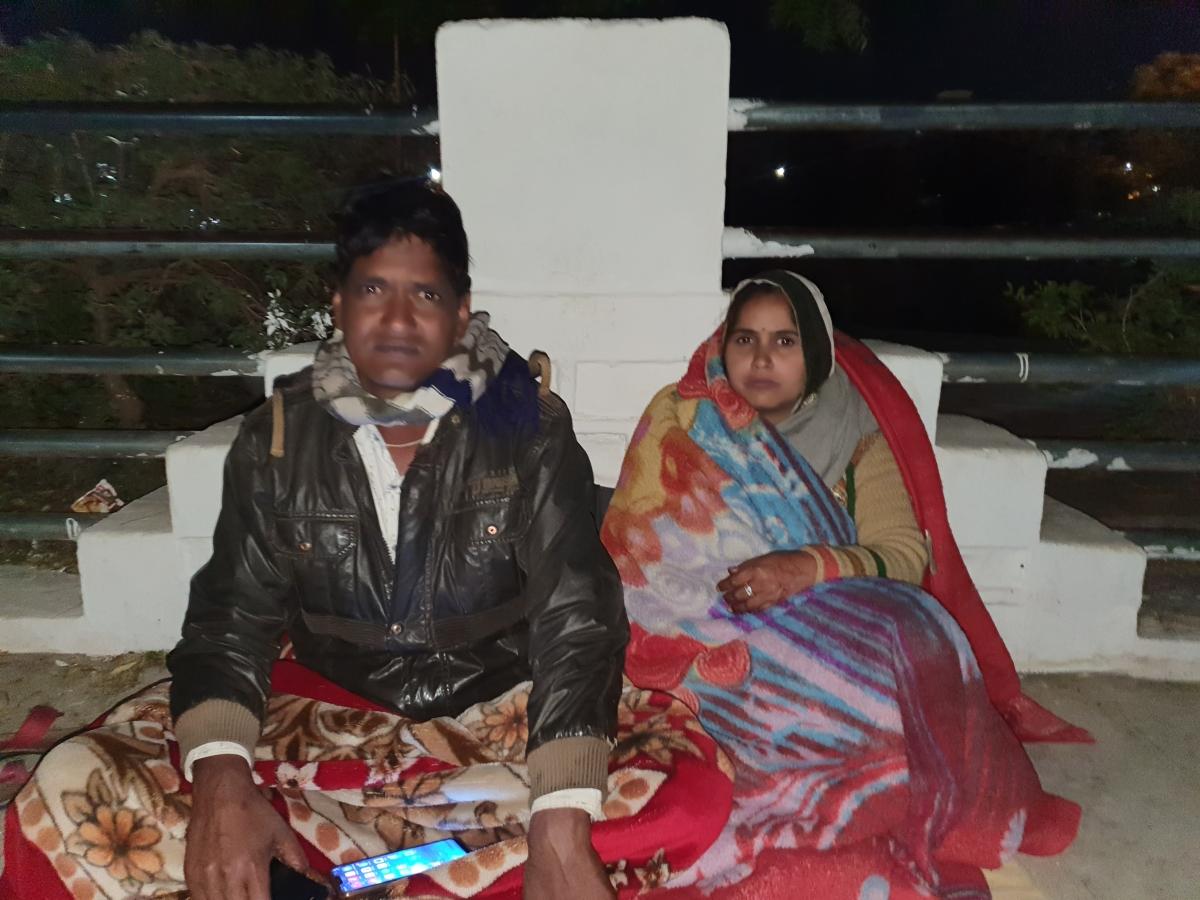 Madhya Pradesh: Couple on indefinite hunger strike against encroachers