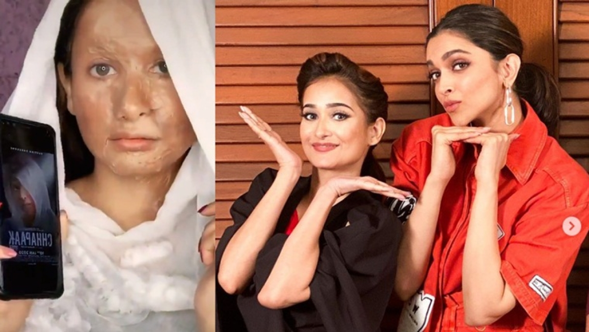 'Super messed up and insensitive': Twitterati condemn Chhapaak 'make-up look' by TikTok star