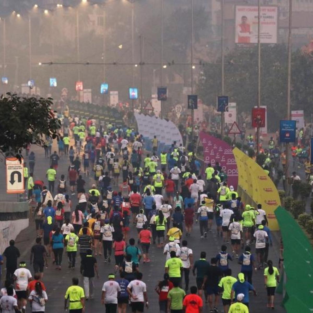 Mumbai Marathon hit me like a drug: Shivanand Shetty
