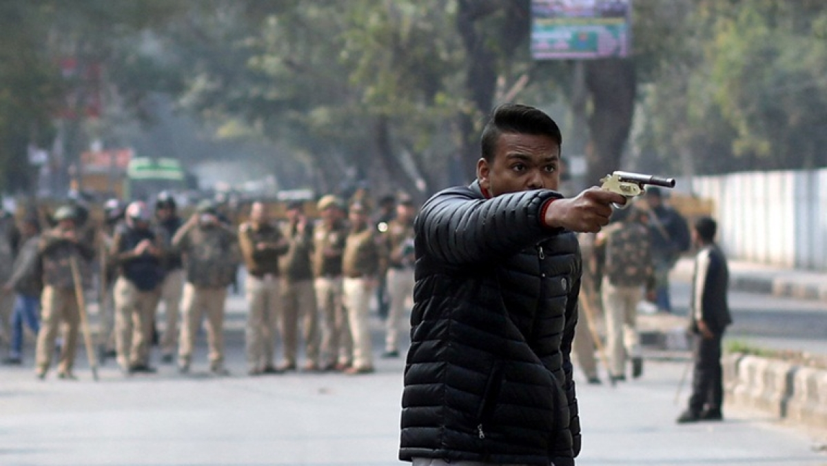 Jamia firing: Shooter went live on Facebook multiple times before opening fire