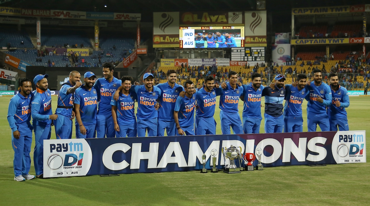 12 records India chased down while defeating Australia in series clincher