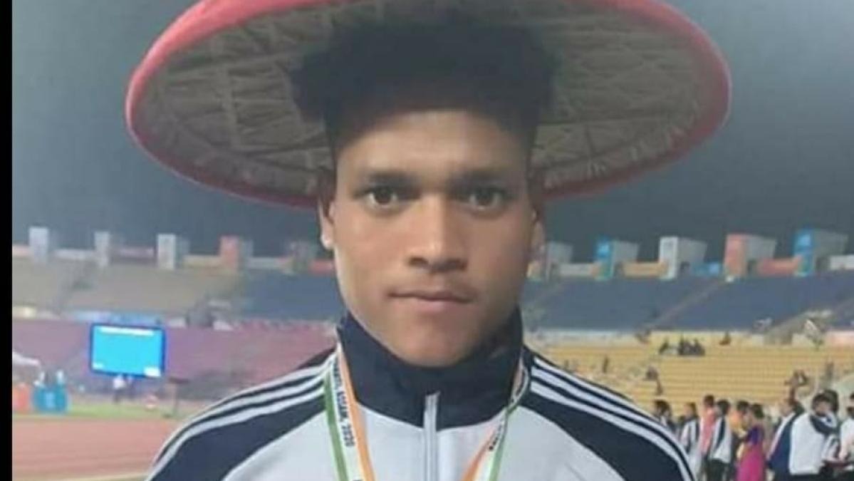 Sadanand Kumar from CCL operated Sports Academy wins Gold in U-17