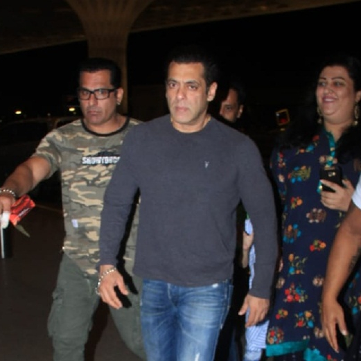 Who pissed bhai off? Watch Salman Khan snatch a fan's phone at Goa airport