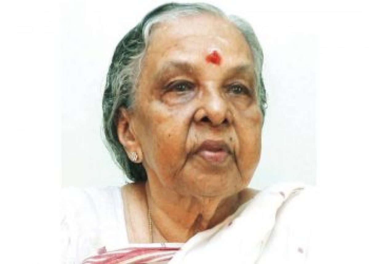 Former Kerala minister and senior Congress leader M Kamalam passes away at 94