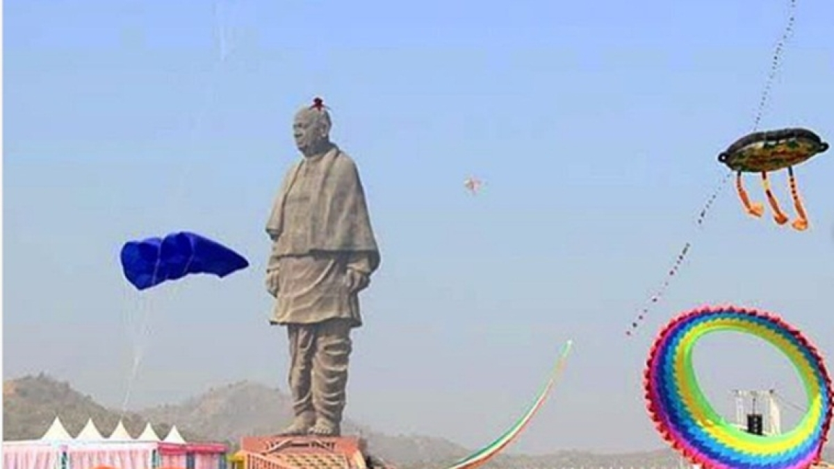 Check out PM Modi's Instagram pictures of 'Uttarayan' celebrations at Statue of Unity