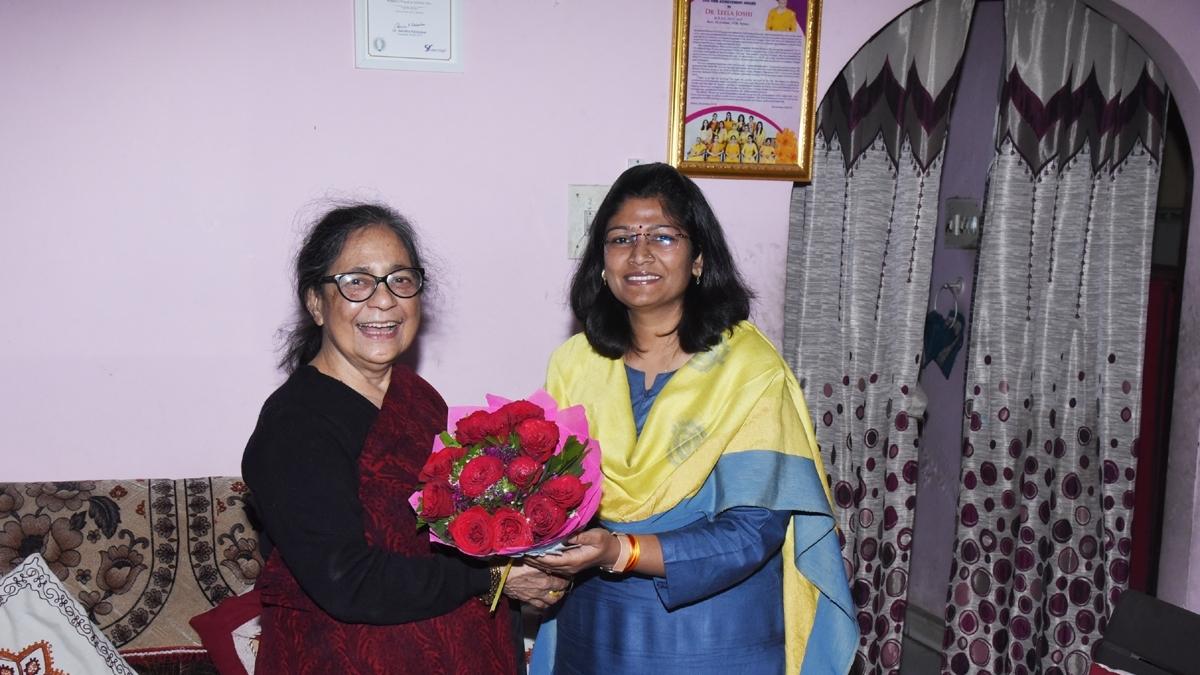 Padma Shri award at 81 is a wonderful feeling: Dr Leela Joshi