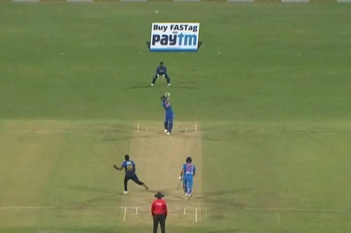 Ind vs SL: Watch Virat Kohli's 'straight  arrow shot' against Sri Lanka