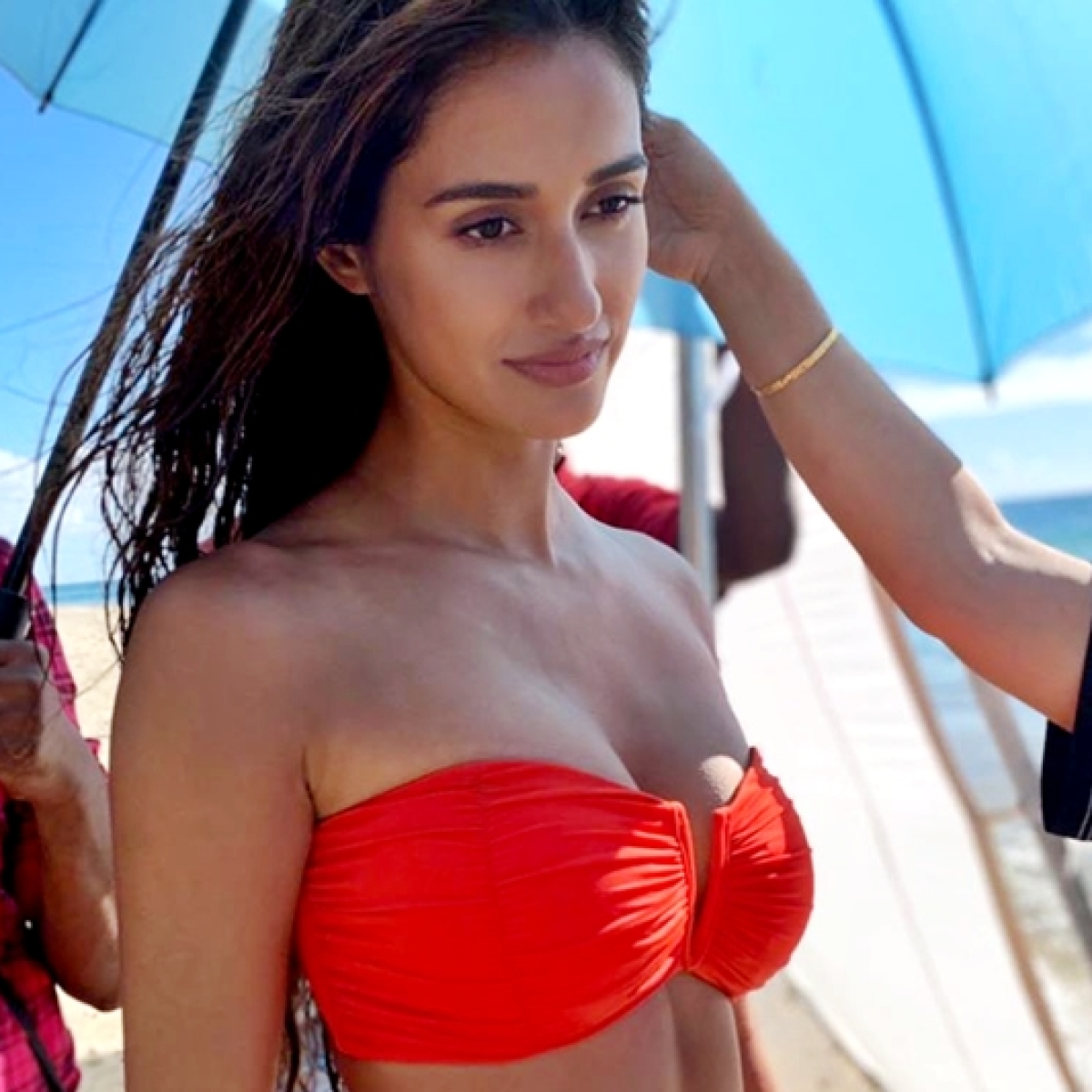 Disha Patani's sexy pictures flaunting a hot red bikini will drive away your Monday blues