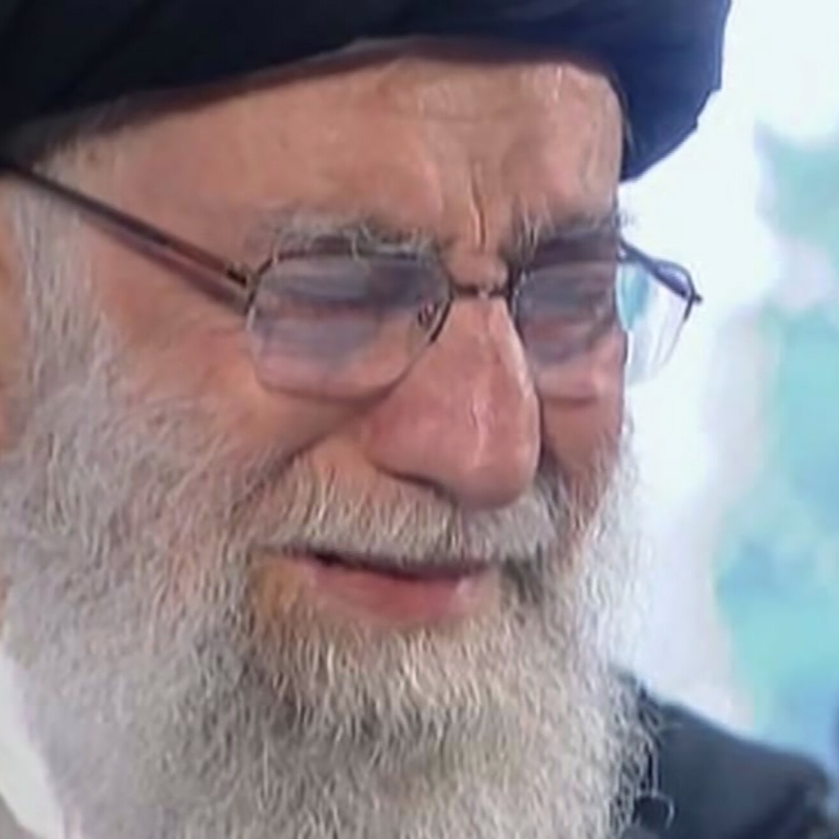 Khamenei weeps over Iran General's coffin at funeral