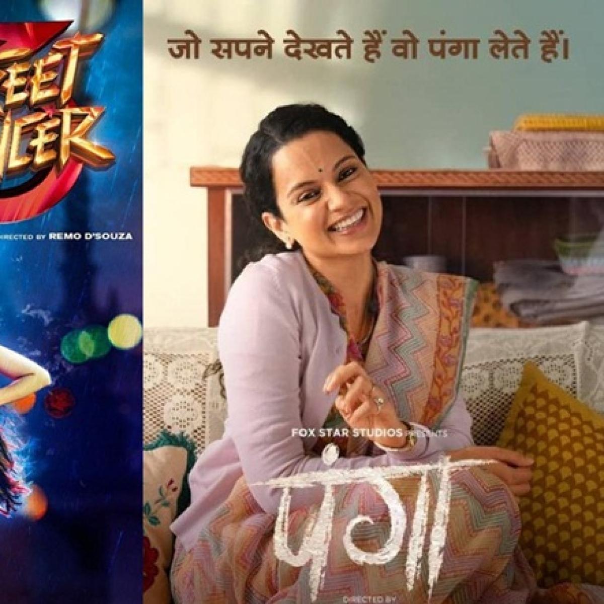 Varun Dhawan's 'Street Dancer 3D' quashes Kangana Ranaut's 'Panga' at the box office