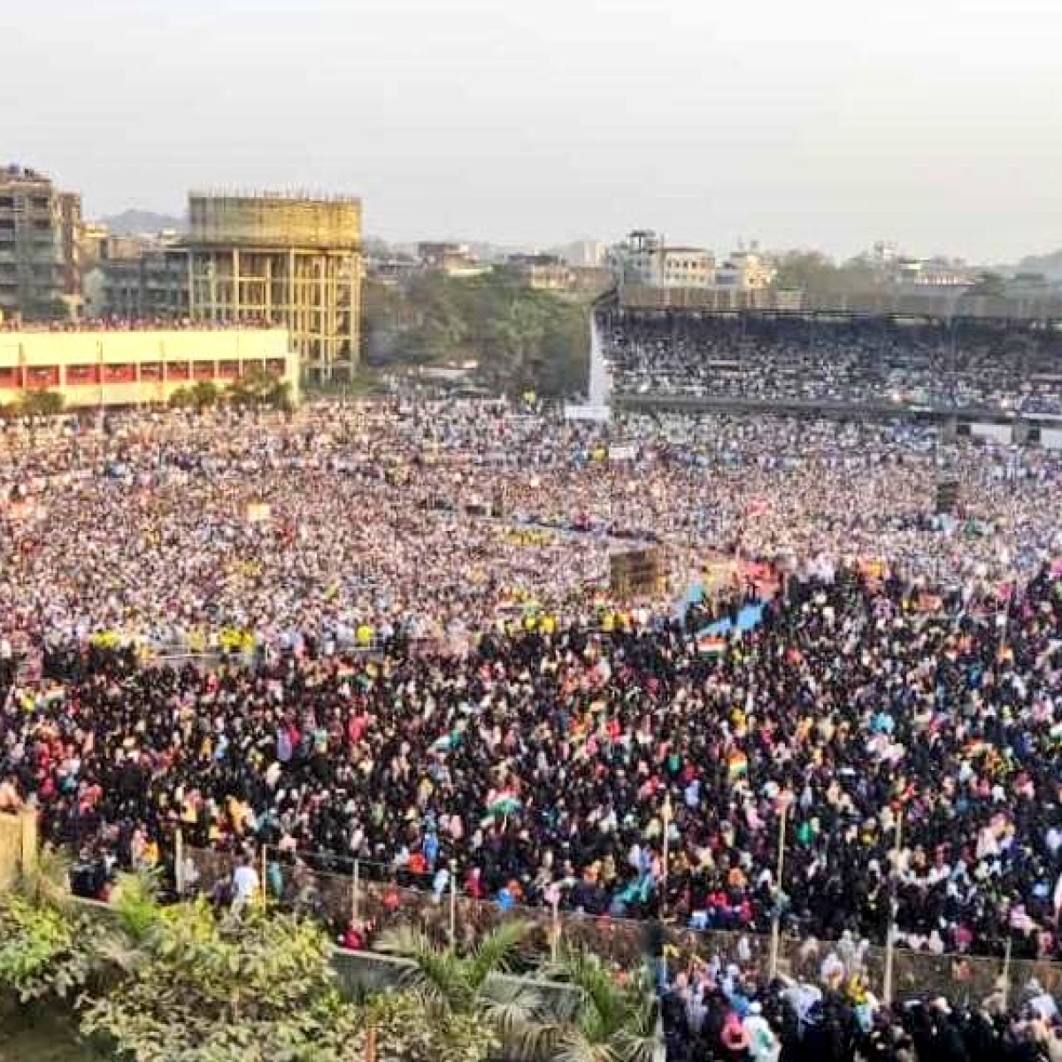80,000 protest against CAA in Bhiwandi