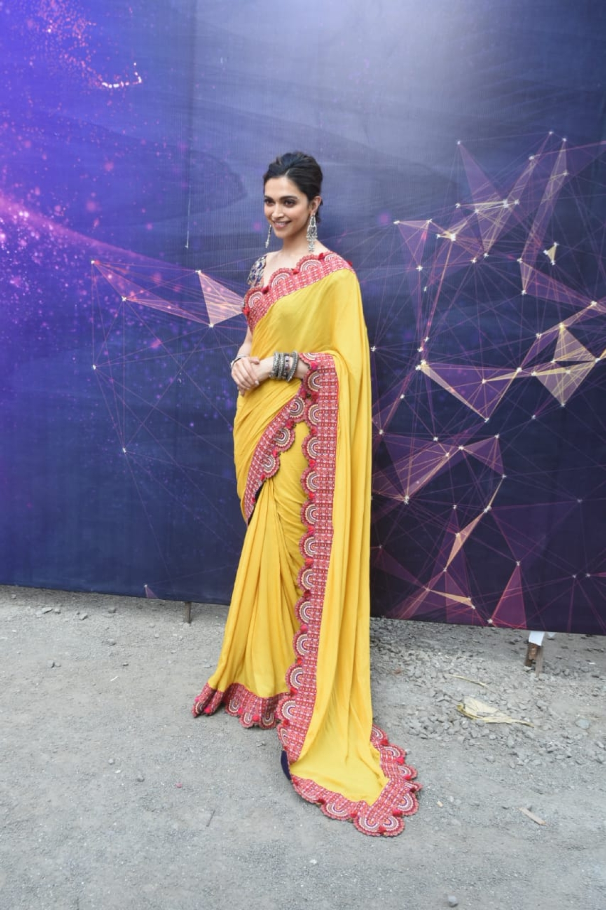 Deepika Padukone for Chapaak's promotions