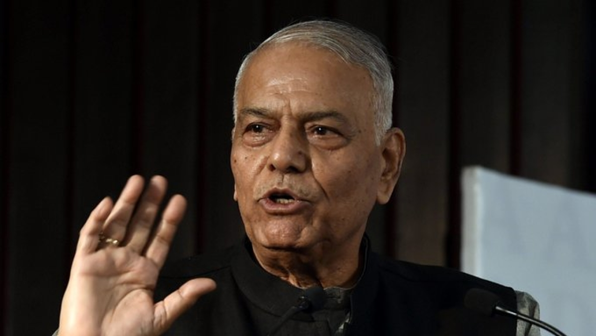 '56-inch chest' govt will have to bow to people's wishes: Yashwant Sinha on CAA stir