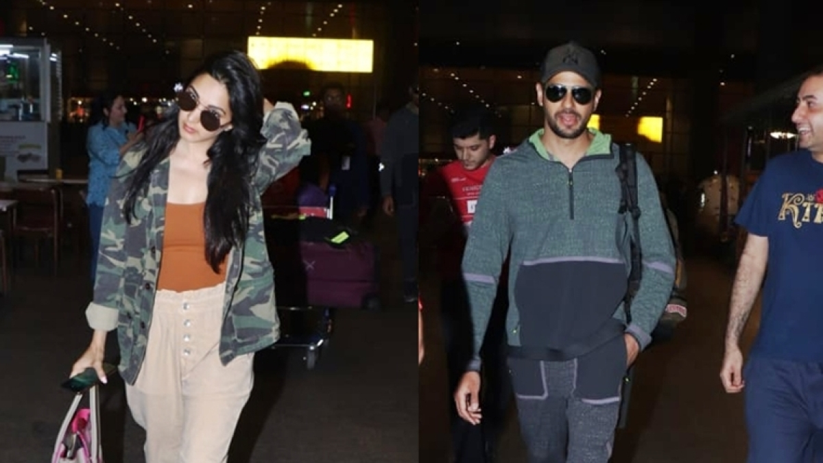Watch video: Kiara Advani storms off angrily as Sidharth Malhotra poses for selfie with fans at the airport