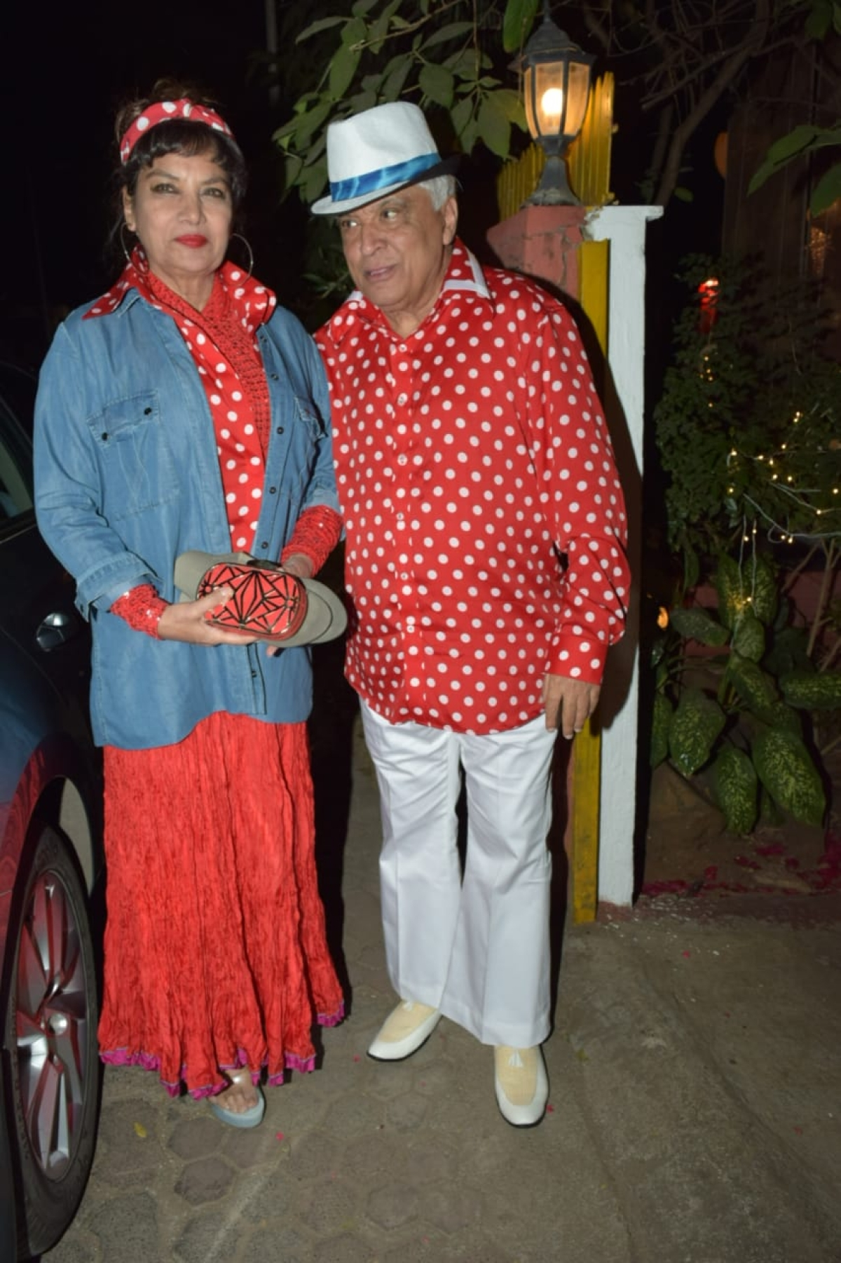 Javed Alhtar and Shabana Azmi