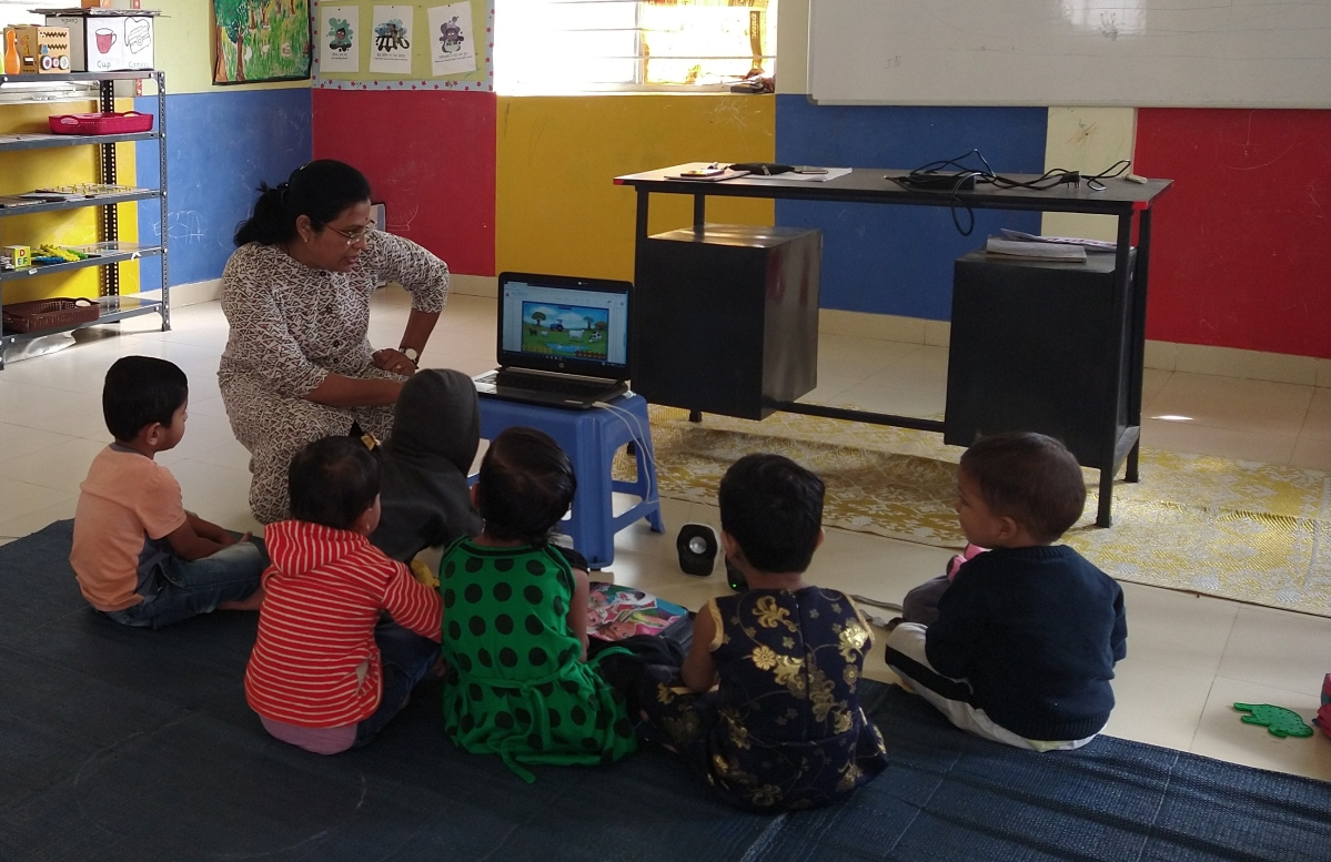 25 Anganwadis in Nashik have children and parents hooked with Ampersand's new e-learning module under govt's PPP