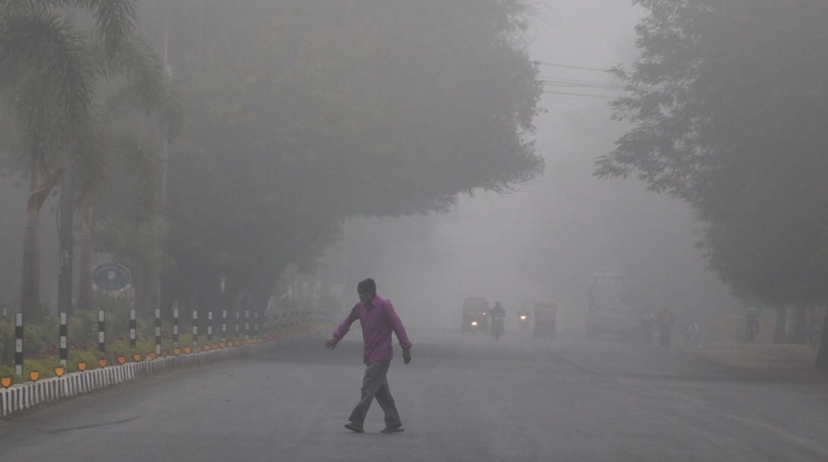Bhopal: Fog grips city, night temp to drop further