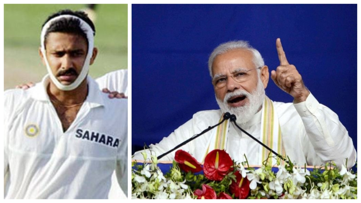 Honoured to have been mentioned by PM Narendra Modi: Anil Kumble