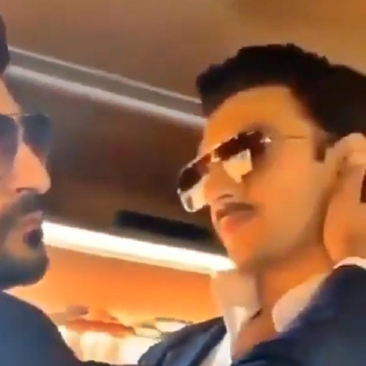 'Bhabhi dekh rahi hai': Ranveer Singh shares a passionate liplock with '83 co-star, watch video