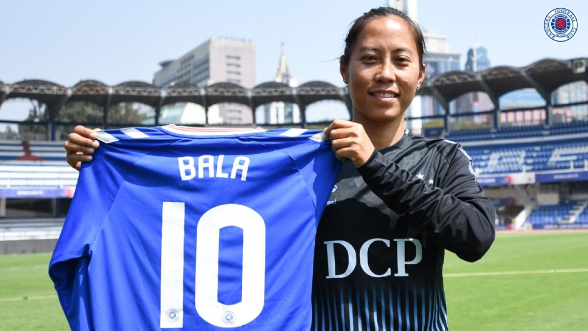 Bala Devi signs for Rangers FC