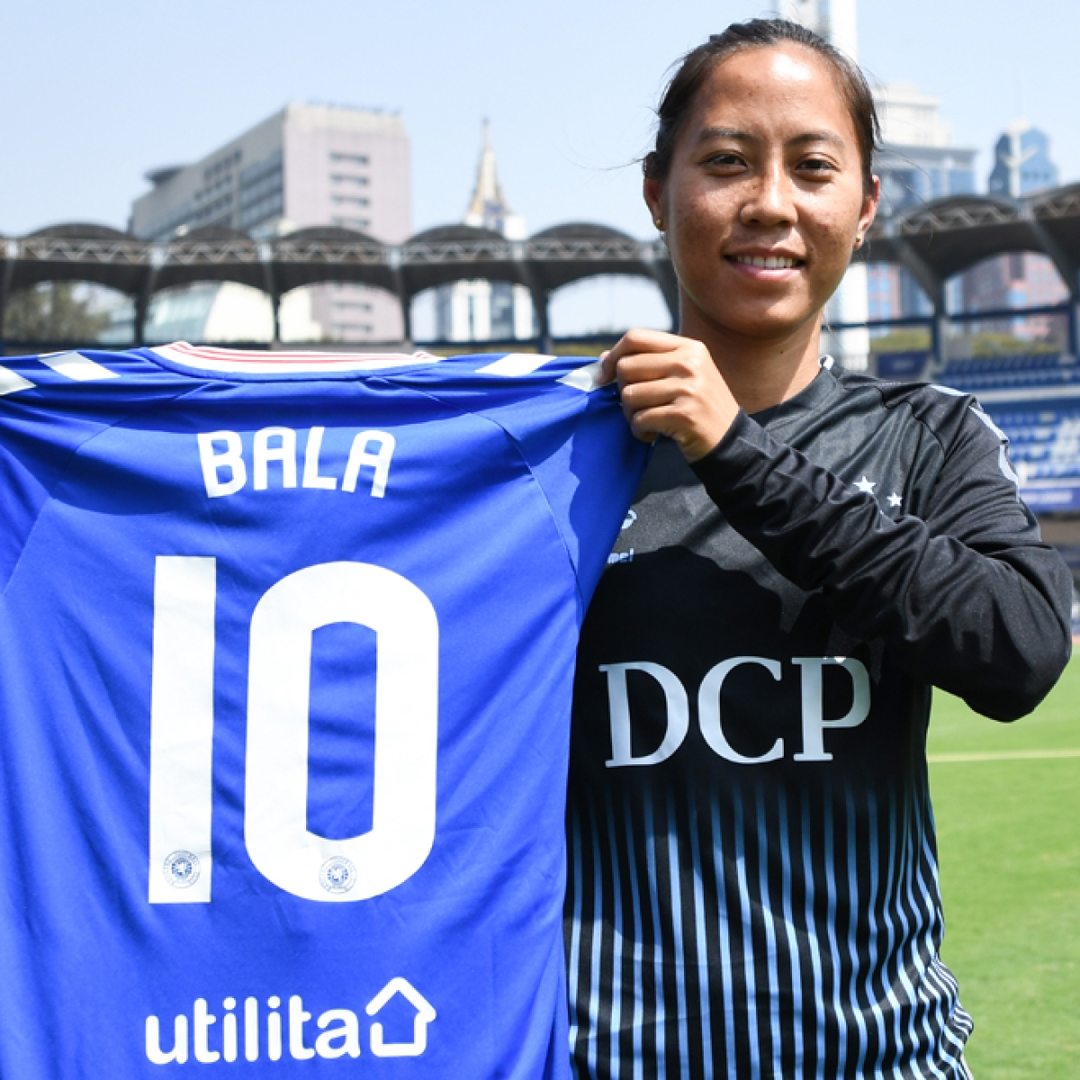 Bala Devi signs contract with Rangers FC; becomes India's first-ever female professional player