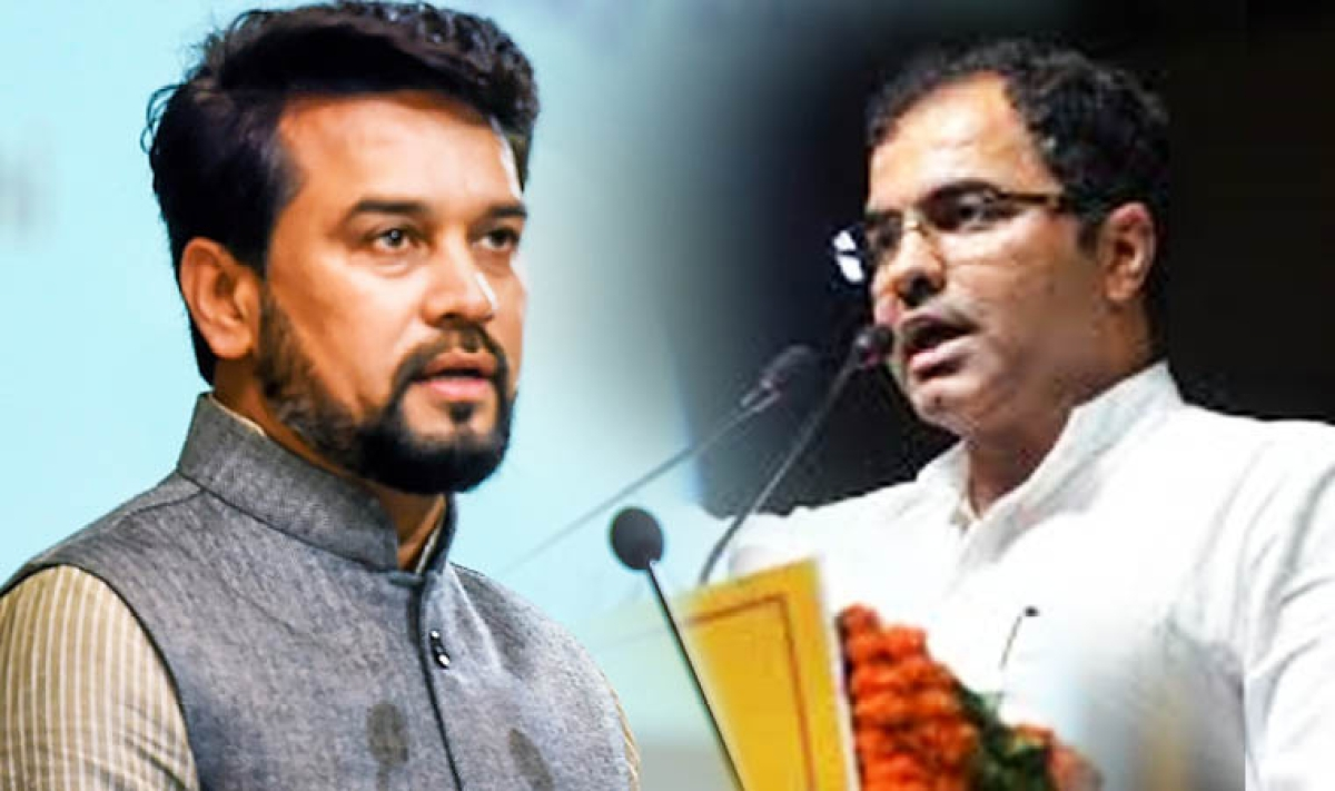 Delhi Elections 2020: Campaign ban on MoS Anurag Thakur, BJP MP Parvesh Verma