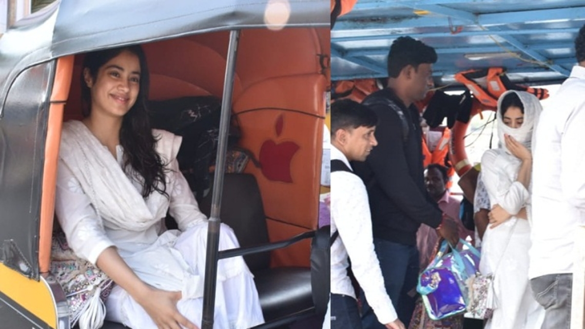 Janhvi Kapoor goes undercover for 'Dostana 2' shoot with her Rs 5 lakh bag