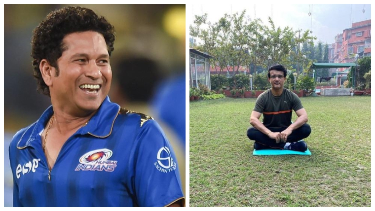 Tendulkar ridicules Sourav Ganguly for 'skipping' sessions during their playing days