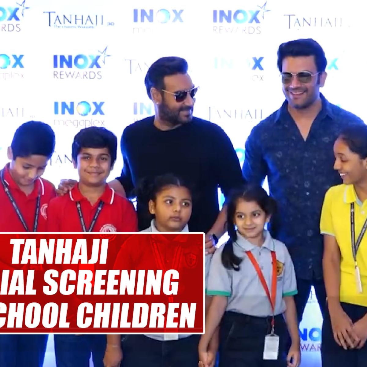 Ajay Devgn organises special screening of 'Tanhaji' for school children
