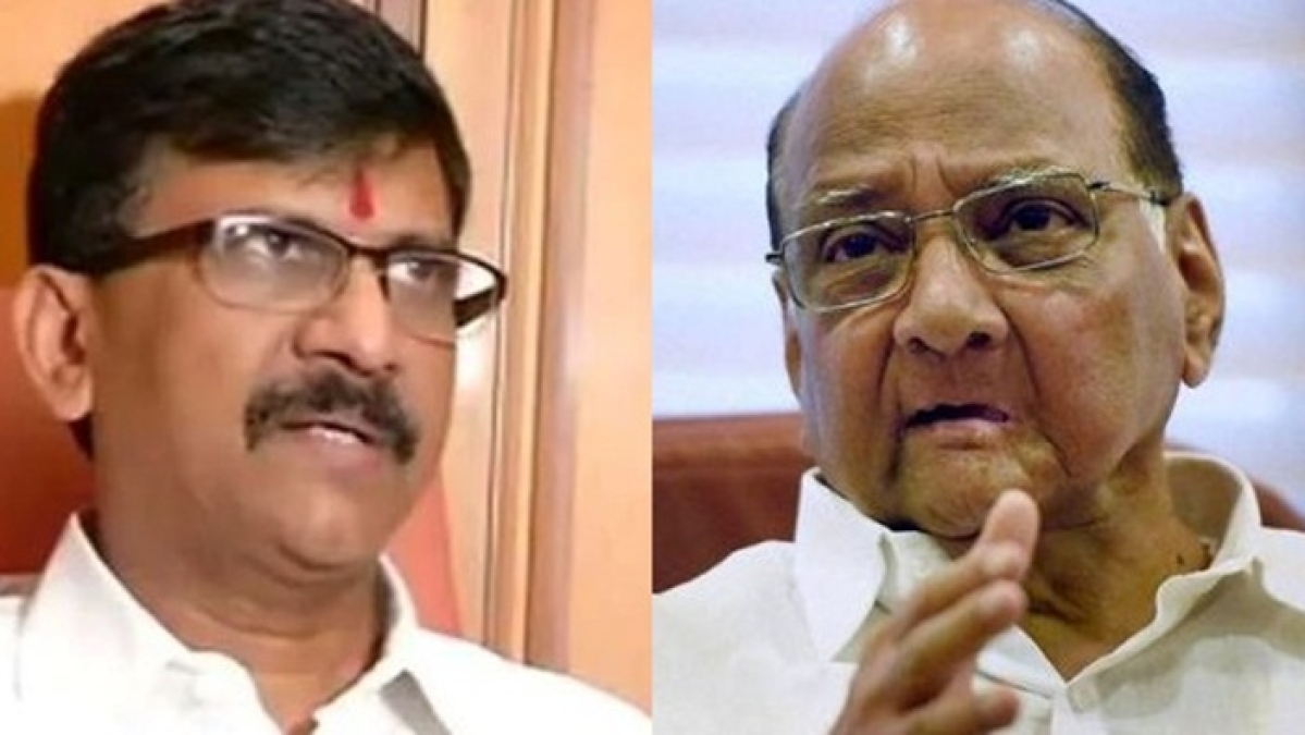 'Had discussion on many issues': Sanjay Raut meets Sharad Pawar, Supriya Sule amid allocation of cabinet berths