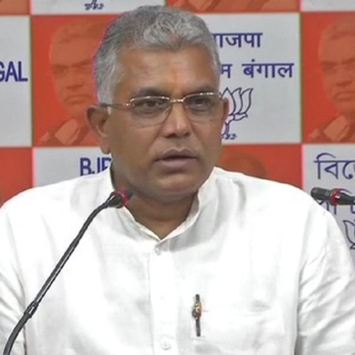 'It is still to be tested whether it is blood or some paint on JNU student leader's head': West Bengal BJP chief Dilip Ghosh