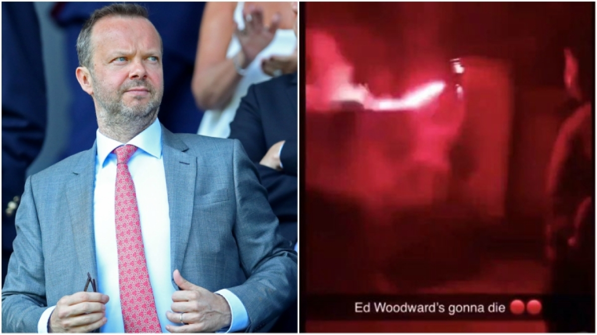 Manchester United vice-chairman Ed Woodward's house attacked by fans
