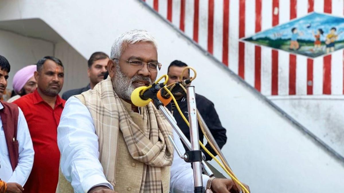 Swatantra Dev Singh elected unopposedas UP BJP chief, formal announcement on Friday