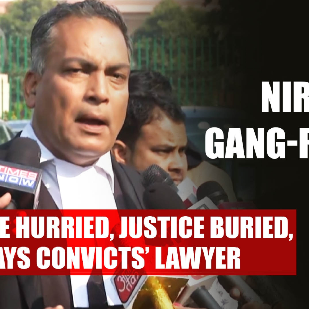 Nirbhaya gang-rape case: Justice hurried, justice buried, says convicts' lawyer