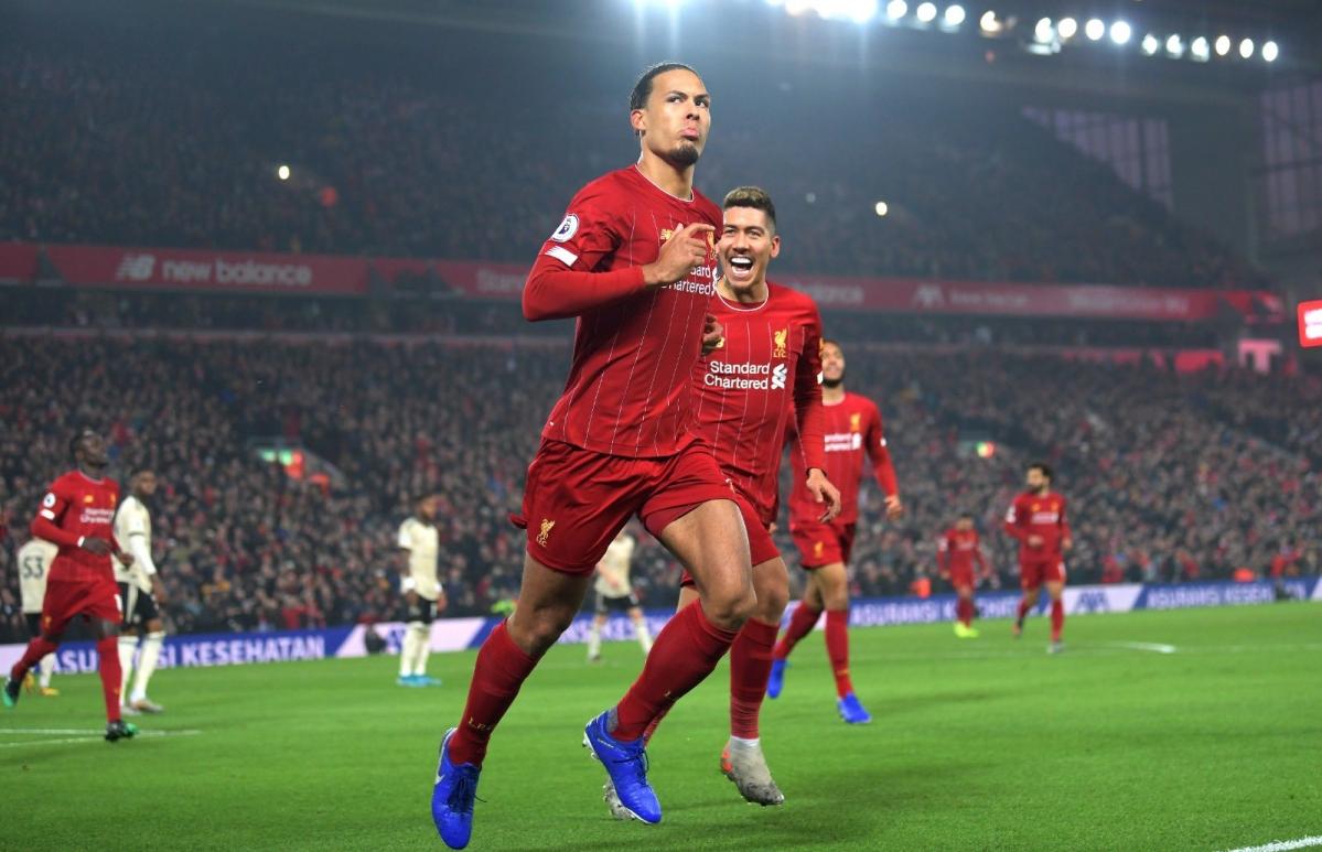 Liverpool vs Man United: Defender Van Dijk leads Reds' title chase