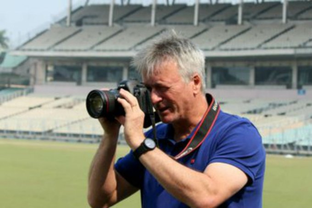 Former Australia skipper Steve Waugh returns to Eden Gardens, this time as photographer