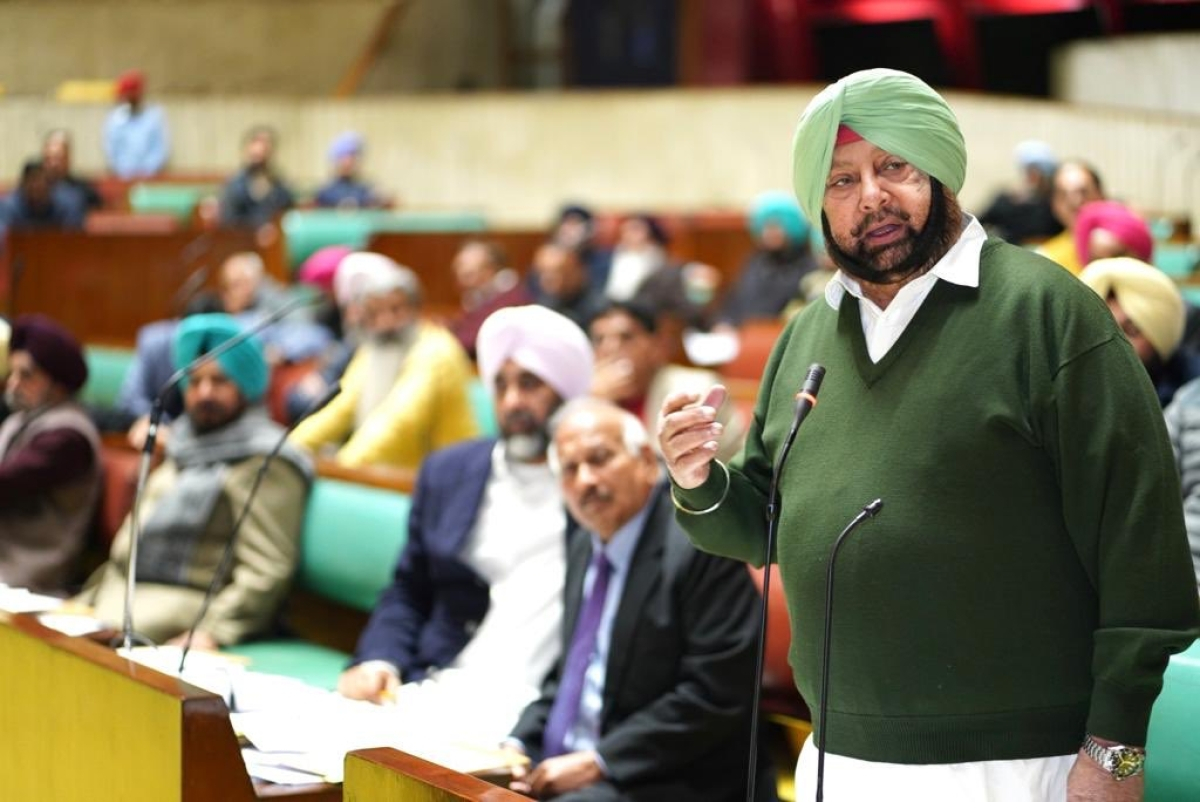 What happened in Hitler's Germany in 1930s happening in India now: Punjab CM Amarinder Singh on CAA