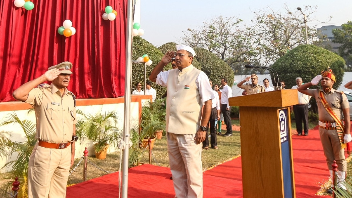 Konkan Railway Celebrates Republic Day