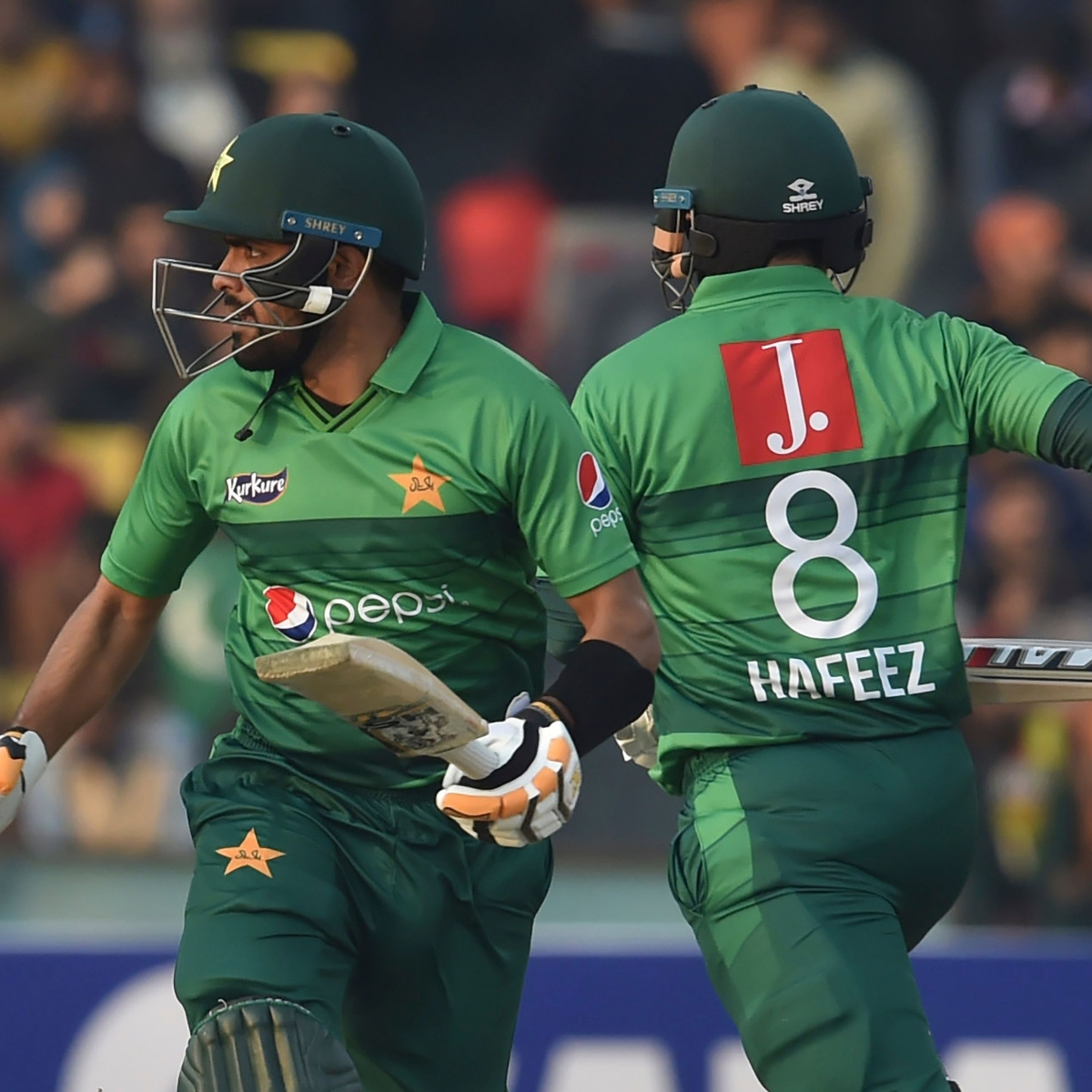 How are Pakistan ranked number 1 in T20I?