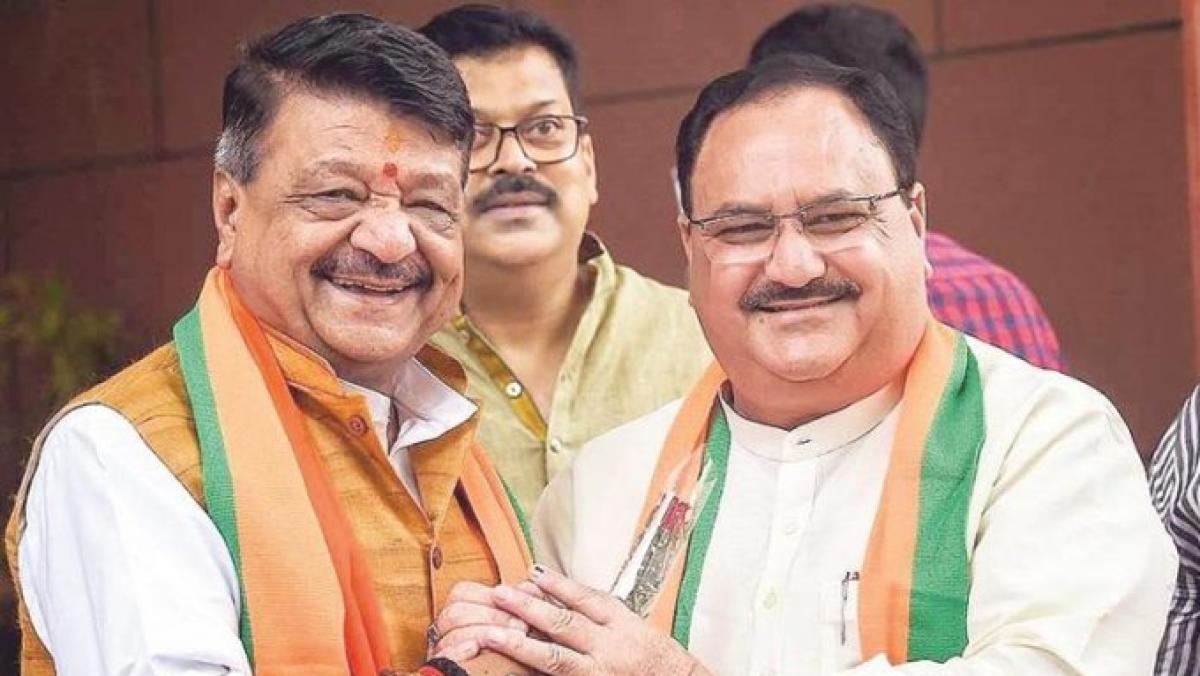 BJP general secretary Kailash Vijayvargiya
