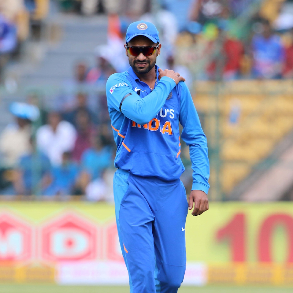 Shikhar Dhawan's NZ tour in doubt after shoulder injury against Australia