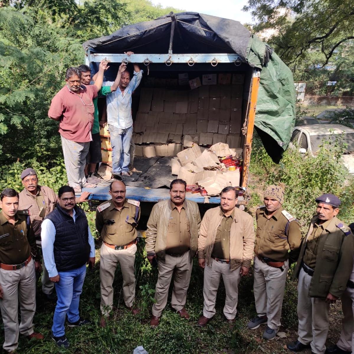 Mhow: Liquor worth Rs 55L seized