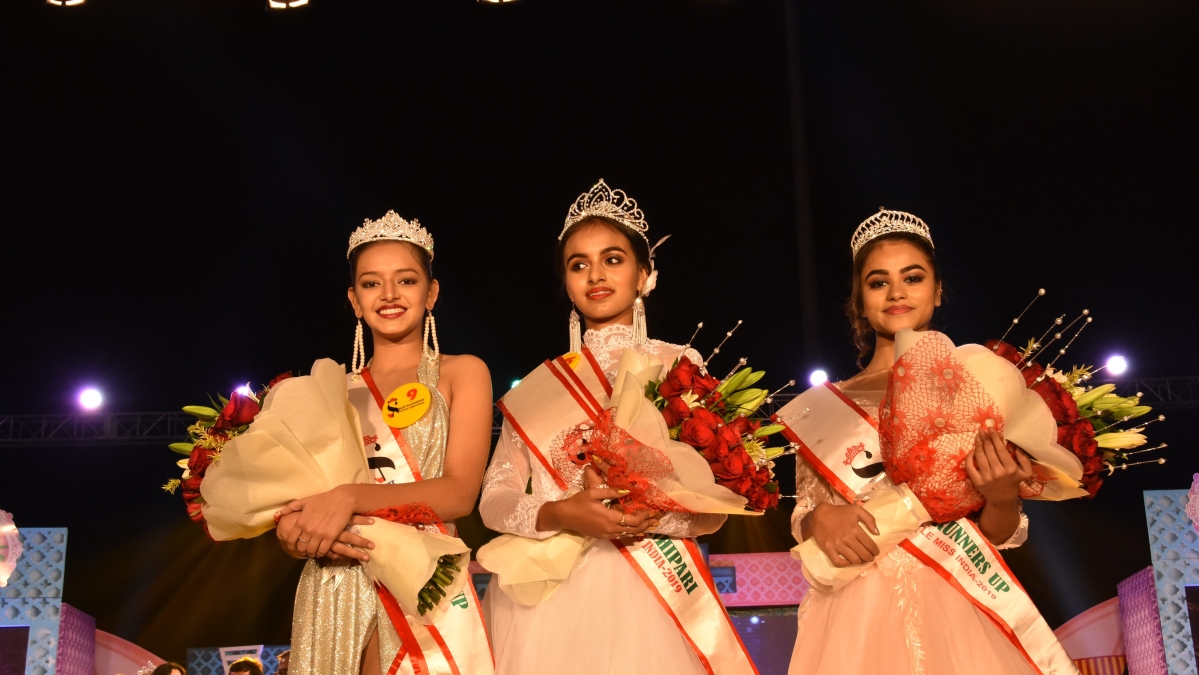 Gunveen bags KIIT Nanhipari-Little Miss India 2019 Title