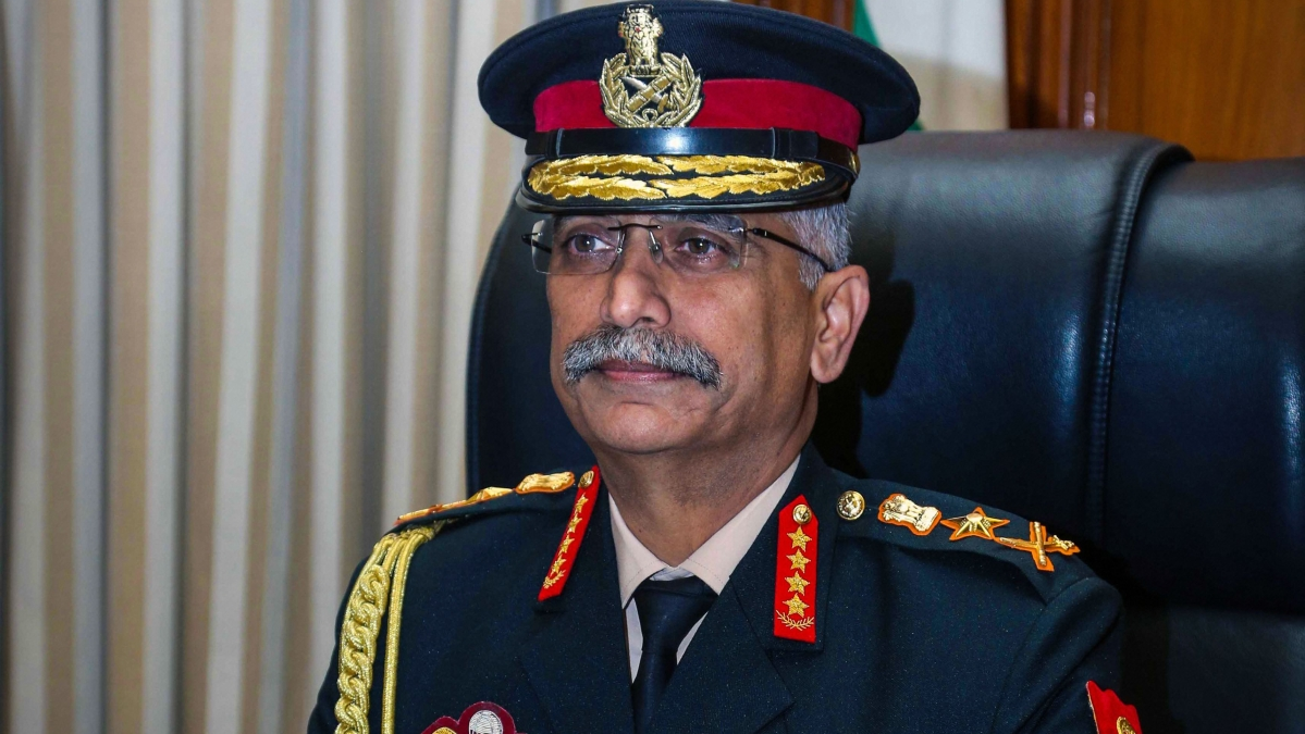 General Manoj Mukund Naravane takes