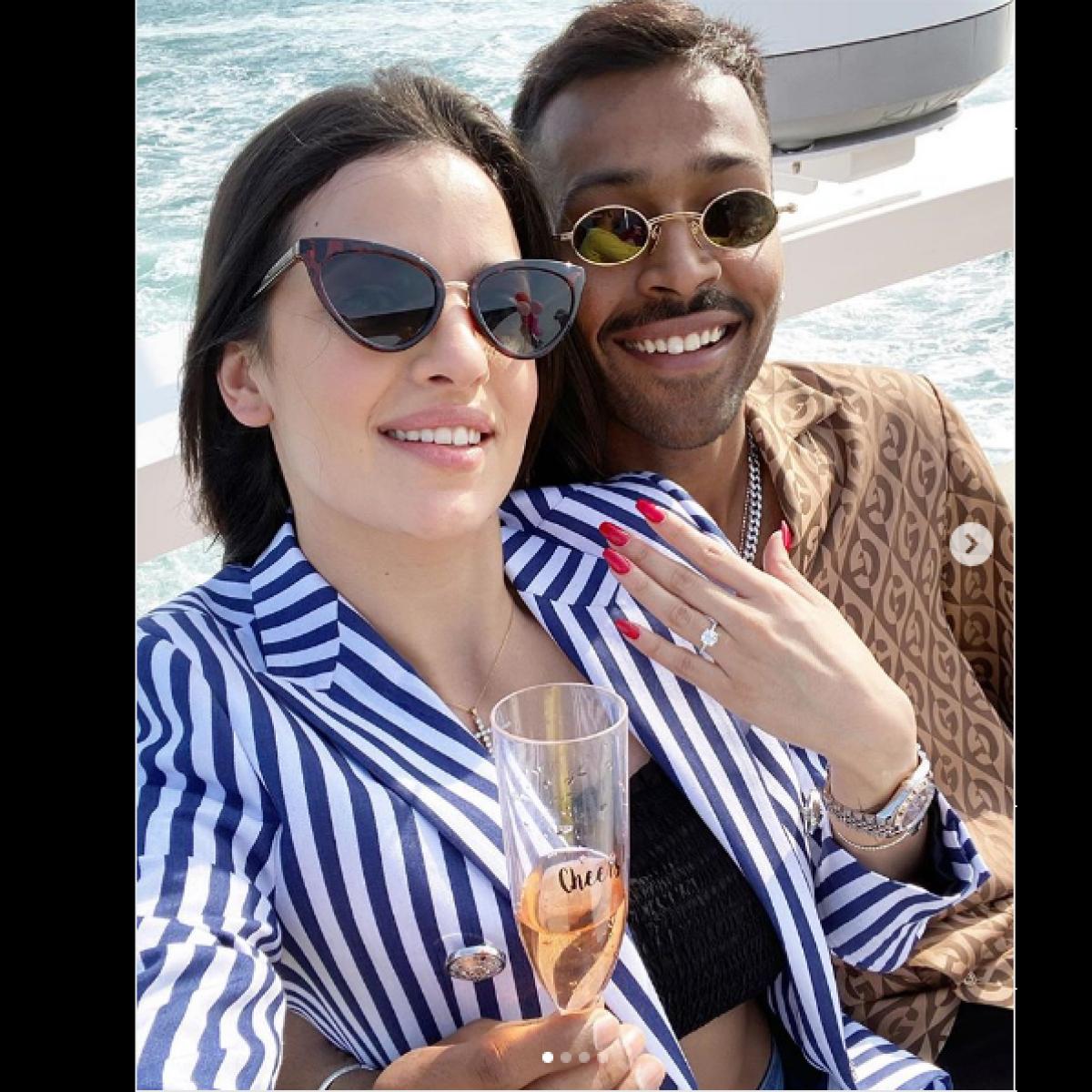 'Mai tera, tu meri': Hardik Pandya gets engaged to Nataša Stanković; watch video of proposal