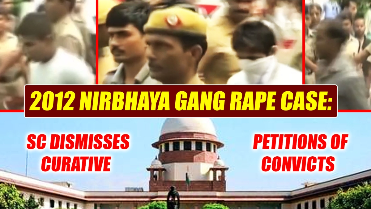 2012 Nirbhaya gang rape case: SC dismisses curative petitions of convicts
