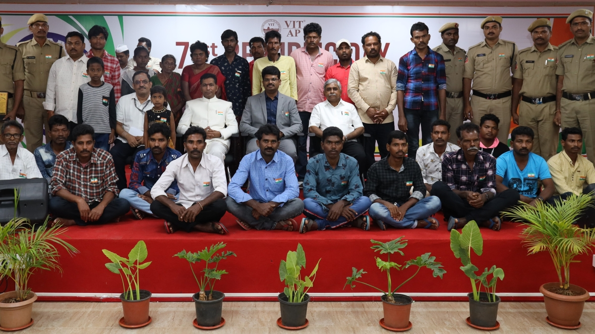VIT- AP University celebrates 71st Republic Day