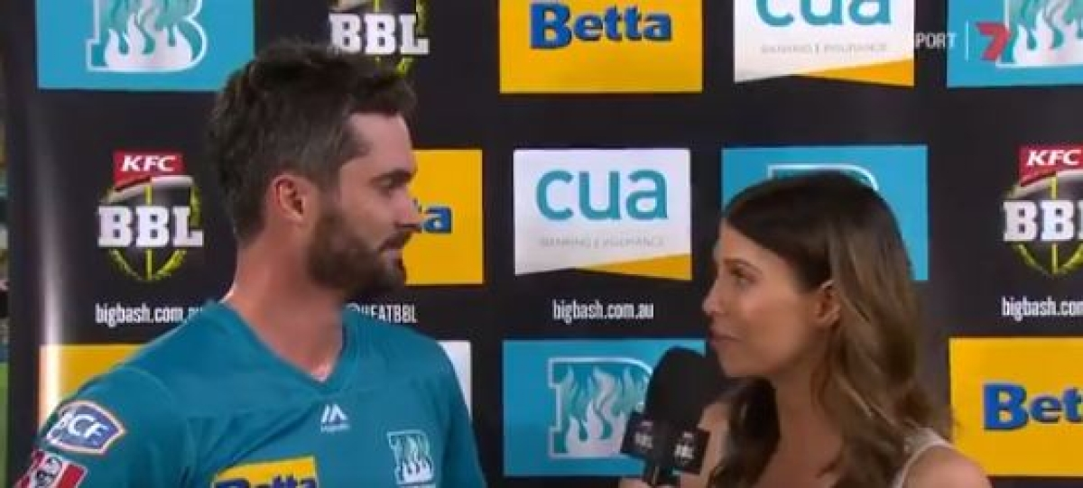 'Thank you for listening to me for the first time in your life': Erin Holland lauds Ben Cutting's performance in BBL